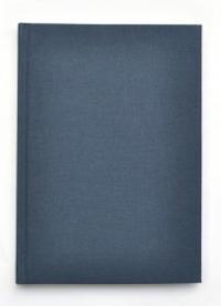 Kiji skrivbok A5 blå olinjerad