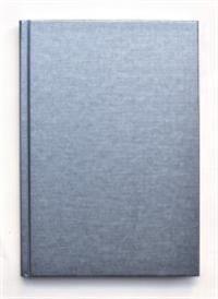 Kiji skrivbok A4 silver linjerad