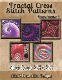 Fractal Cross Stitch Patterns Volume Number 8