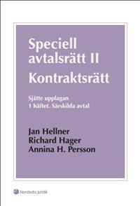 Speciell avtalsrätt II : kontraktsrätt. H. 1, Särskilda avtal