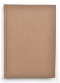 Kiji skrivbok A4 beige olinjerad