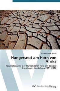 Hungersnot Am Horn Von Afrika