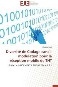 Diversite de Codage Canal-Modulation Pour La Reception Mobile de TNT