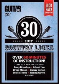 30 Hot Country Licks