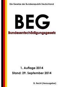 Bundesentschadigungsgesetz - Beg