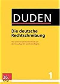 Duden 01. Die deutsche Rechtschreibung
