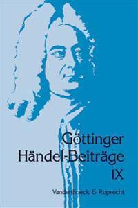 Gottinger Handel-beitrage, Band 9