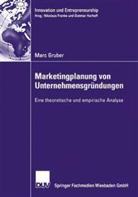 Marketingplanung Von Unternehmensgründungen