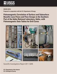 Paleomagnetic Correlation of Surface and Subsurface Basaltic Lava Flows and Flow Groups in the Southern Part of the Idaho National Laboratory, Idaho,