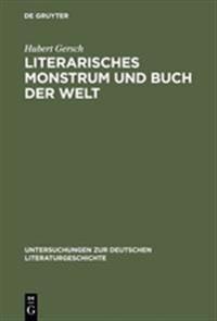 Literarisches Monstrum Und Buch Der Welt: Grimmelshausens Titelbild Zum »simplicissimus Teutsch«