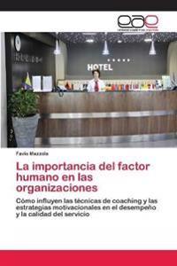 La Importancia del Factor Humano En Las Organizaciones