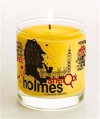 Sherlock Holmes Candle, Vanilla