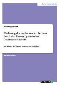 Forderung Des Entdeckenden Lernens Durch Den Einsatz Dynamischer Geometrie-Software