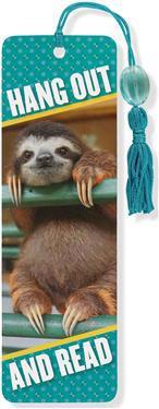 Baby Sloth Beaded Bookmark