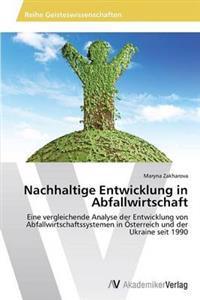 Nachhaltige Entwicklung in Abfallwirtschaft