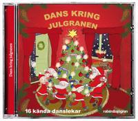 Dans kring julgranen : 16 kända danslekar. Total speltid 43.50 min