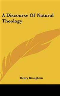 Discourse Of Natural Theology