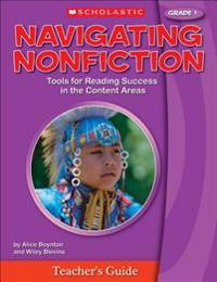 Navigating Nonfiction, Grade 1 [With Poster]