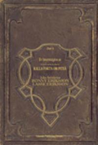 De norrbottniska satansverserna : en faksimilutgåva av (sånt man inte med bästa vilja i världen kan) Kalla fakta om Piteå