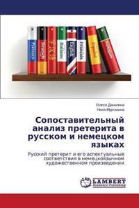 Sopostavitel'nyy Analiz Preterita V Russkom I Nemetskom Yazykakh