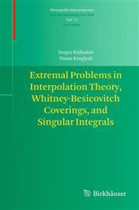 Extremal Problems in Interpolation Theory, Whitney-besicovitch Coverings, and Singular Integrals