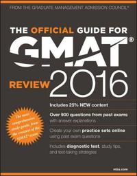 The Official Guide for GMAT Review 2016 with Online Question Bank and Exclu