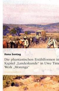 """Die Phantastischen Erzahlformen Im Kapitel """"Landeskunde"""" in Uwe Timms Werk """"Morenga"""""""