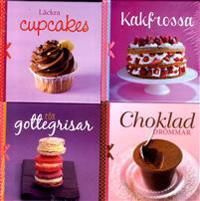 Läckra cupcakes ; Choklad drömmar ; För gottegrisar ; Kakfrossa