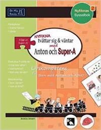 Nyfikna Tvättar Sig & Väntar med Anton och Super-A: Livskompetens for Barn med Autism och ADHD