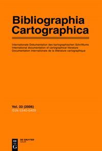 Biblographia Cartographica 2006