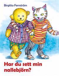 Har du sett min nallebjörn? : Pysens poesibok 2