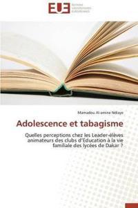 Adolescence Et Tabagisme
