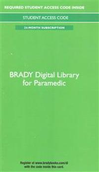 Brady Digital Library for Paramedic -- Access Card (24 Months Access)