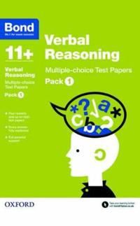 Bond 11+: Verbal Reasoning: Multiple-choice Test Papers