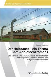 Der Holocaust - Ein Thema Des Adoleszenzromans