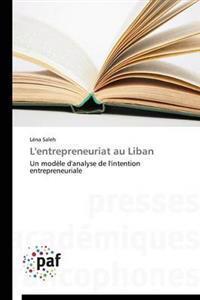 L'Entrepreneuriat Au Liban