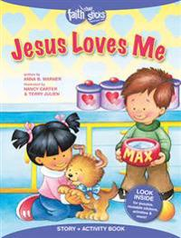 Jesus Loves Me Story + Activity Book
