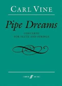 Pipe Dreams: Concerto for Flute and Strings, Full Score