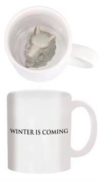 Game of Thrones Stark Direwolf Sculpted Mug