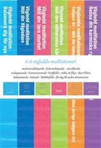 6 st vägledda meditationer