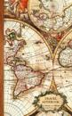 Travel Notebook: Gifts / Gift / Presents ( Ruled Traveler's Notebook with Antique Map Cover )