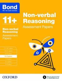 Bond 11+: non-verbal reasoning: assessment papers - 8-9 years