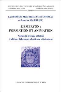 L'embryon Formation Et Animation