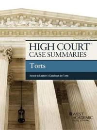High Court Case Summaries on Torts