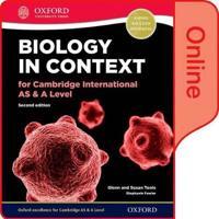Biology in Context for Cambridge International asA Level