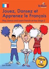 Jouez, Dansez et Apprenez le Francais (Book, DVD & CD)