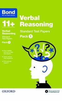 Bond 11+: verbal reasoning: standard test papers - pack 1