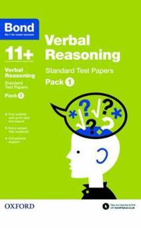 Bond 11+: Verbal Reasoning: Standard Test Papers