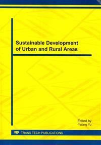Sustainable Development of Urban and Rural Areas