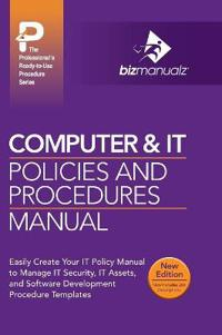 Computer & It Policies and Procedures Manual